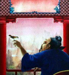Jean-Noel Rochut – «Le rossignol de l'empereur»- aquarelle et gouache – Editions L'Agora, Genève