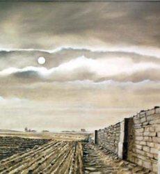 Jean-Pierre Rysman – «Vespérale» – Huile sur toile – 56 x 46