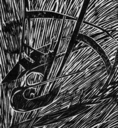 Jean-Marie Wable – linogravure 3