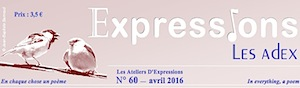 Expressions 60 - avril 2016