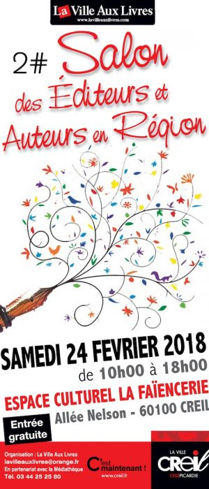 Flyer salon éditeurs 2018 recto