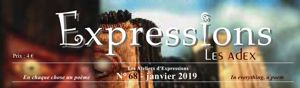 expressions N° 68 - janvier 2019